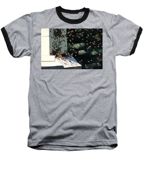 Making Honey - Landscape Baseball T-Shirt