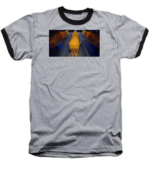 Mako Shark Baseball T-Shirt by David Gilbert