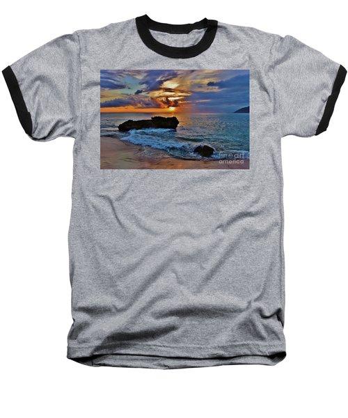 Makua Sunset Baseball T-Shirt