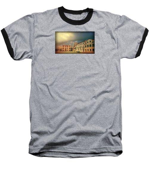 Baseball T-Shirt featuring the photograph Malamacco Massive Cloud by Anne Kotan