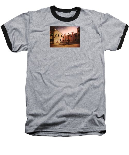 Baseball T-Shirt featuring the photograph Malamocco Corner No2 by Anne Kotan