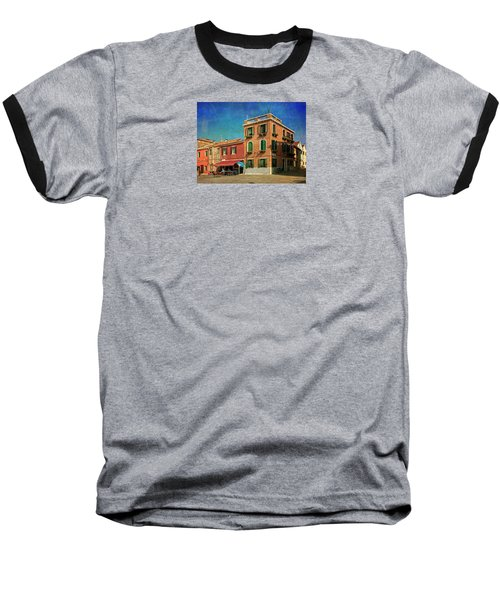 Baseball T-Shirt featuring the photograph Malamocco Corner No3 by Anne Kotan