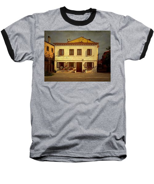 Malamocco House No1 Baseball T-Shirt by Anne Kotan