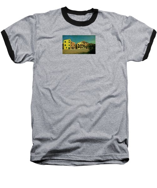 Baseball T-Shirt featuring the photograph Malamocco Main Street No1 by Anne Kotan