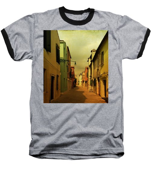 Malamocco Perspective No1 Baseball T-Shirt by Anne Kotan