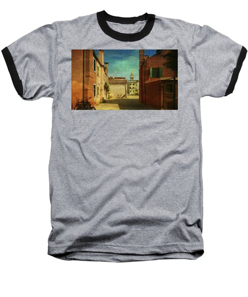 Malamocco Perspective No3 Baseball T-Shirt by Anne Kotan