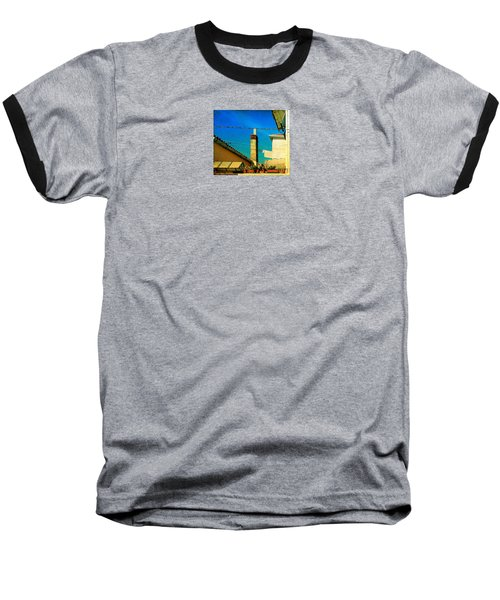 Baseball T-Shirt featuring the photograph Malamoccoskyline No1 by Anne Kotan
