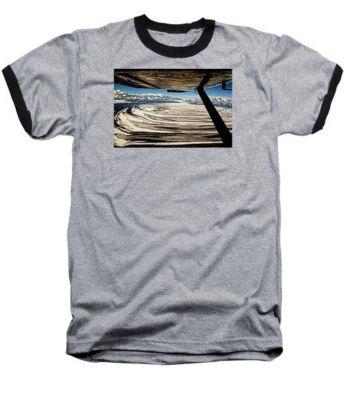 Malaspina Glacier Alaska Baseball T-Shirt