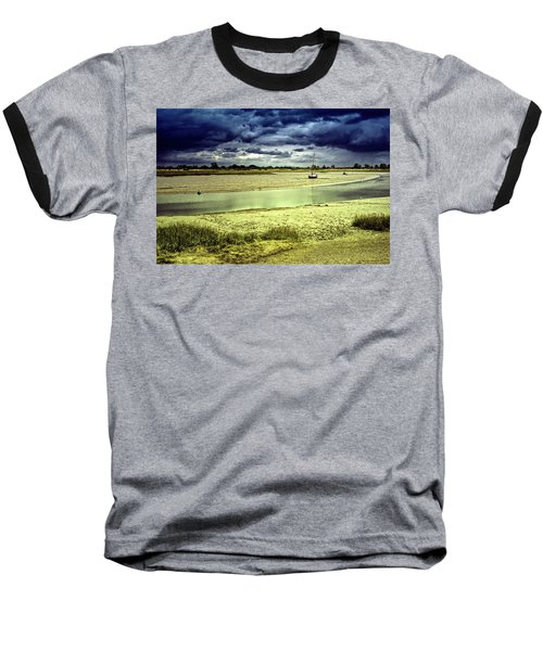 Maldon Estuary Towards The Sea Baseball T-Shirt
