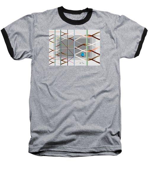 Baseball T-Shirt featuring the digital art Male And Female Logic by Leo Symon