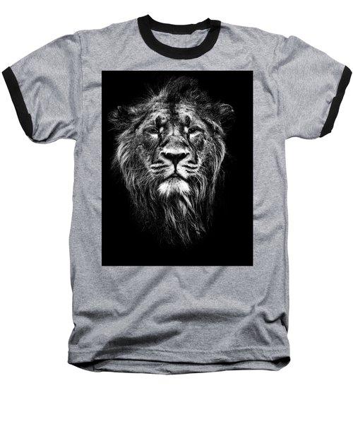 Male Asiatic Lion Baseball T-Shirt