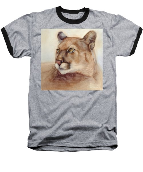 Male Cougar Baseball T-Shirt