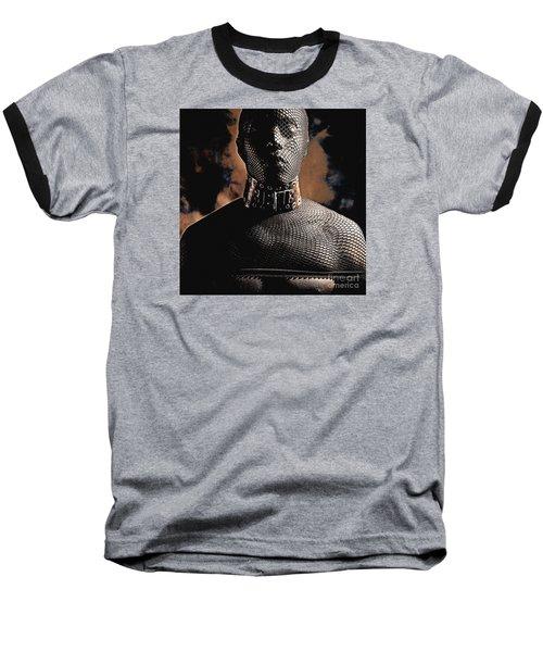 Male Masked Baseball T-Shirt