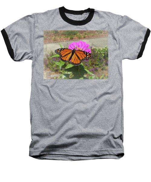 Male Monarch  Baseball T-Shirt