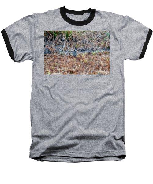 Male Quail In Field Baseball T-Shirt