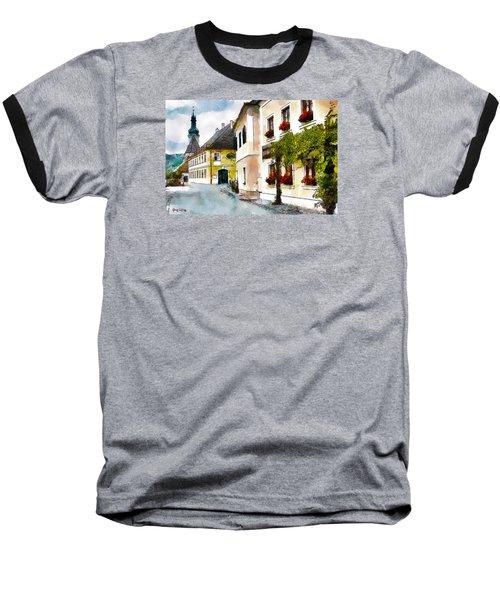 Malerische Baseball T-Shirt