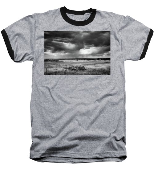 Malheur Storms Clouds Baseball T-Shirt