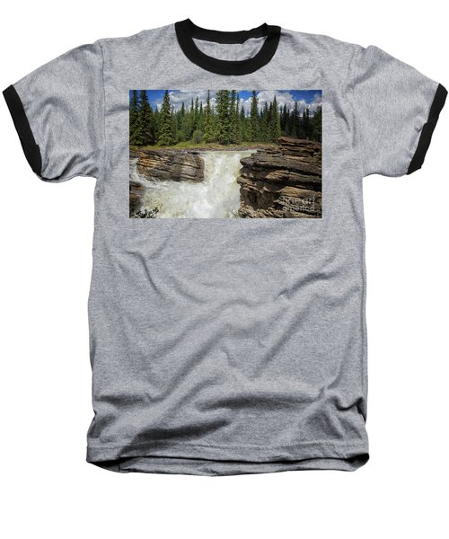 Baseball T-Shirt featuring the photograph Maligne Canyon by Patricia Hofmeester