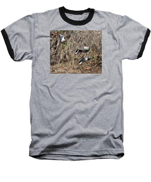 Mallard Ducks 2 Baseball T-Shirt
