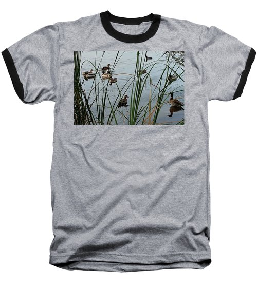 Mallard Migration Baseball T-Shirt