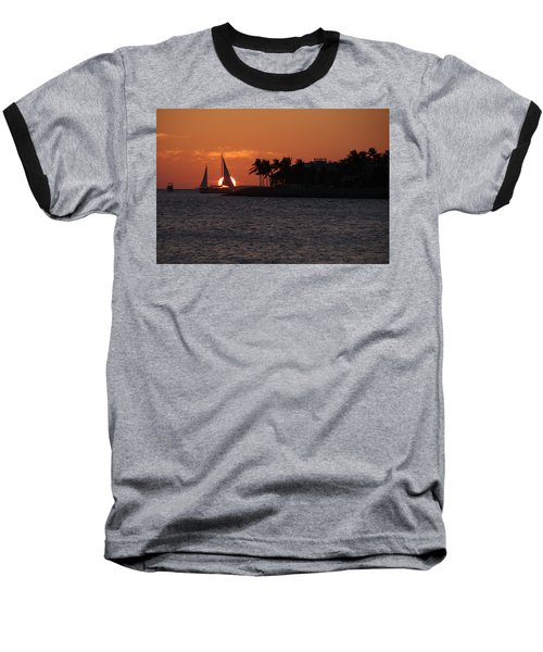 Mallory Square Sunset 2018 Baseball T-Shirt