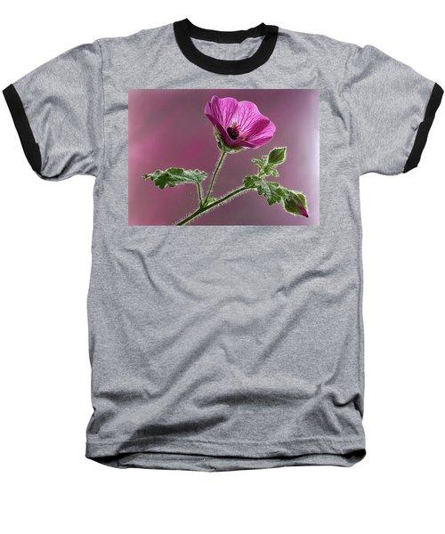 Mallow Flower 3 Baseball T-Shirt