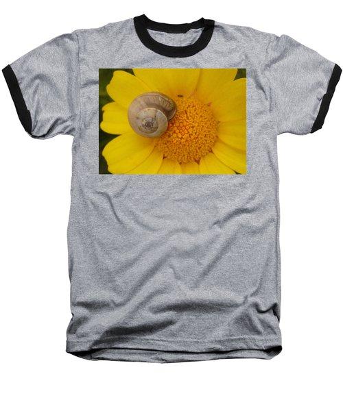 Malta Flower Baseball T-Shirt