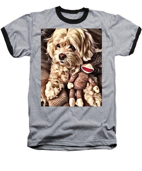 Maltipoo Love Baseball T-Shirt