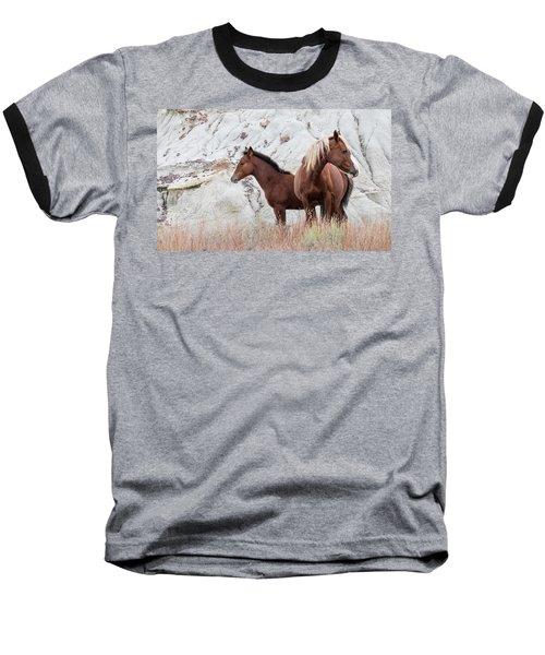 Mama Baseball T-Shirt by Kelly Marquardt