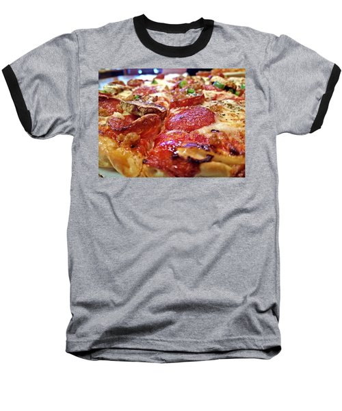 Baseball T-Shirt featuring the photograph Mama Lido's Pizza by Robert Knight
