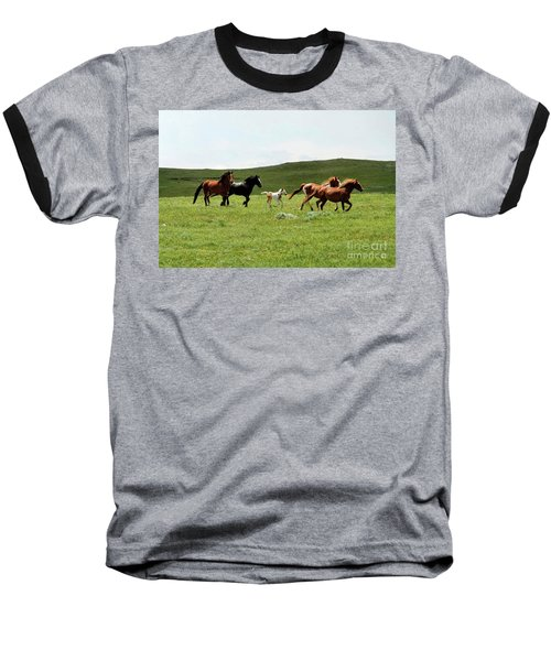 Mama's Little Foal Baseball T-Shirt