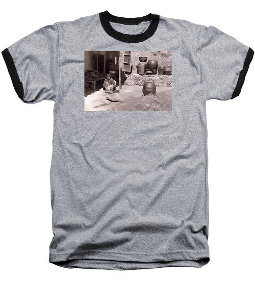 Mamasan Baseball T-Shirt by Dale Stillman