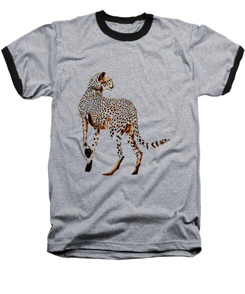 Mammals Leopard Baseball T-Shirt