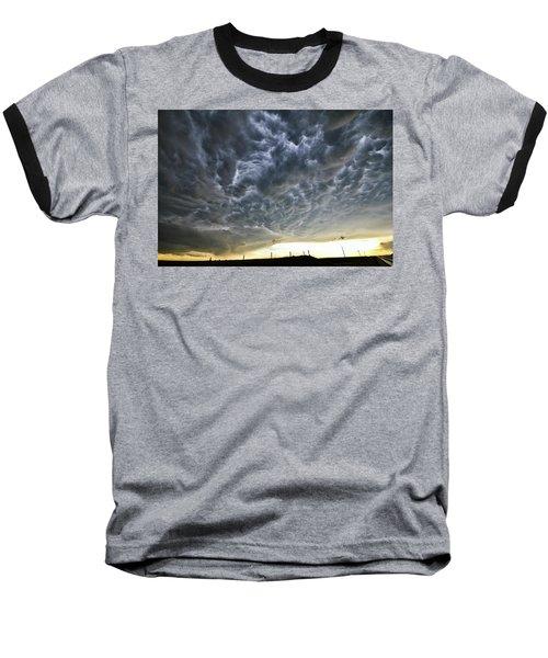 Mammatus Over Nebraska Baseball T-Shirt