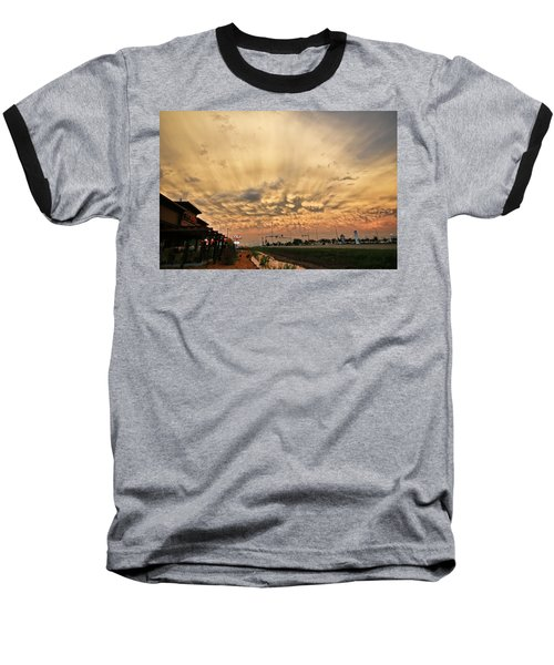 Mammatus Over Yorkton Sk Baseball T-Shirt