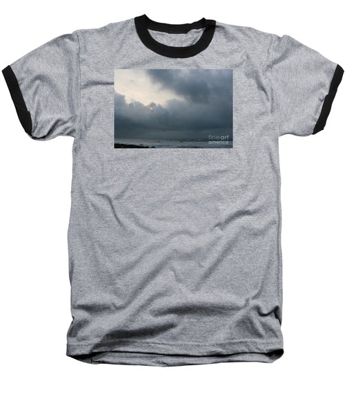 Baseball T-Shirt featuring the photograph Man And Nature by Jeanette French
