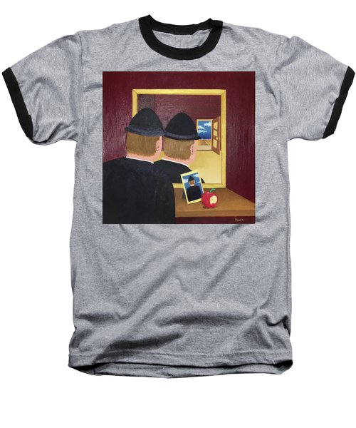 Man In The Mirror Baseball T-Shirt