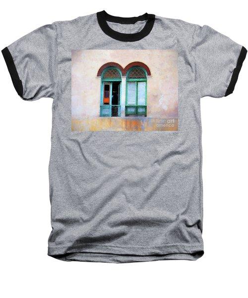 Man In The Shadows Baseball T-Shirt