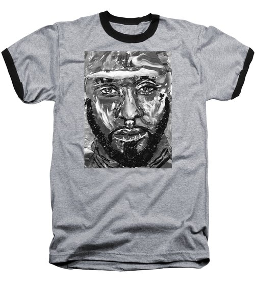 Man Of Steel Baseball T-Shirt