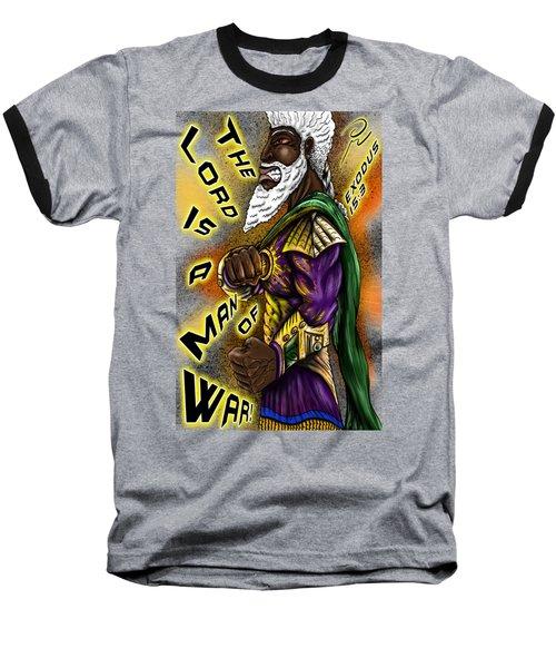 Man Of War T-shirt Design Baseball T-Shirt
