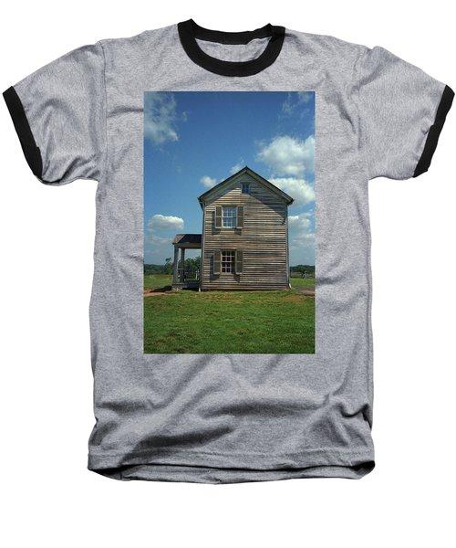 Baseball T-Shirt featuring the photograph Manassas Battlefield Farmhouse by Frank Romeo