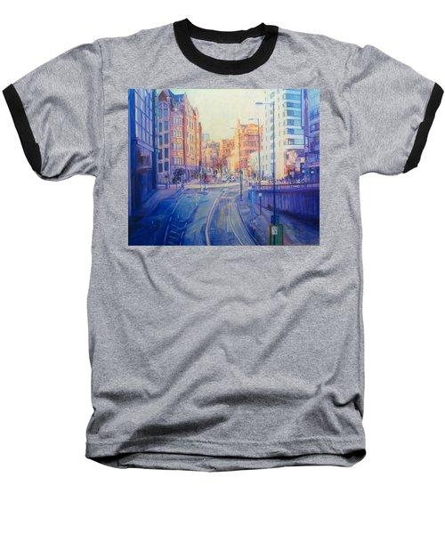 Manchester Light And Shade Baseball T-Shirt