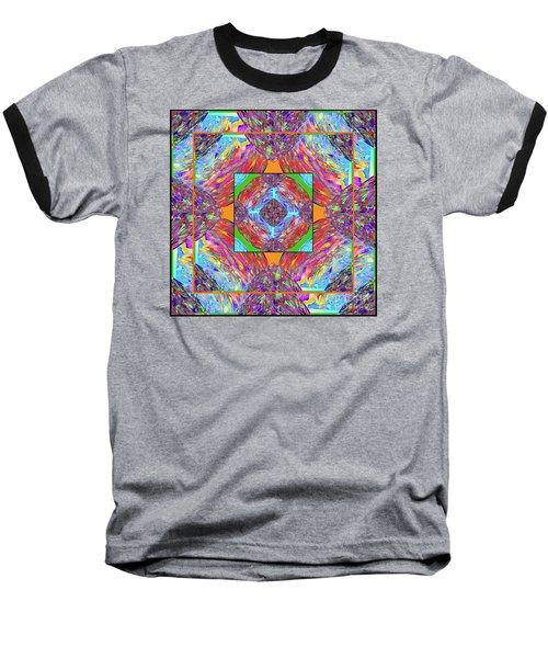 Mandala #1 Baseball T-Shirt
