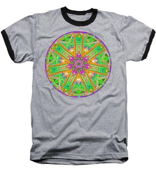 Mandala 12 27 2015 Kings And Priests Baseball T-Shirt by Hidden Mountain