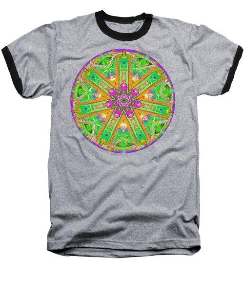 Mandala 12 27 2015 Kings And Priests Baseball T-Shirt