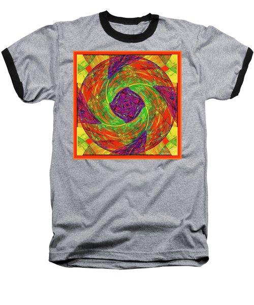 Mandala #55 Baseball T-Shirt