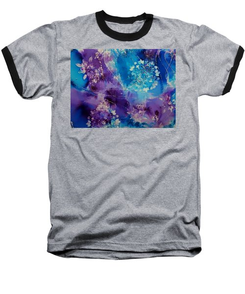 Mandala Abstract Baseball T-Shirt