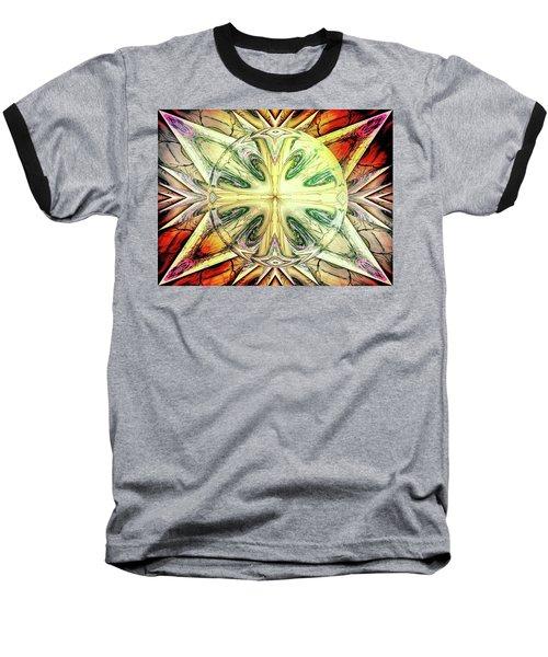 Mandala Baseball T-Shirt