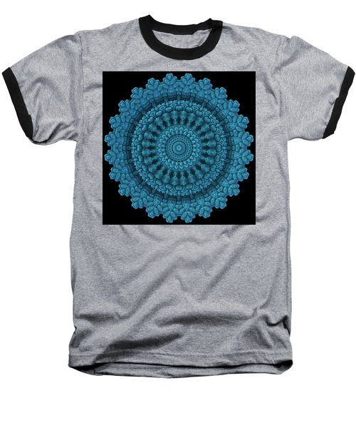 Baseball T-Shirt featuring the digital art Mandala For The Masses by Lyle Hatch