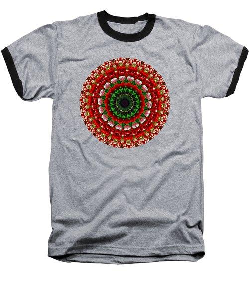 Mandala Tulipa By Kaye Menner Baseball T-Shirt